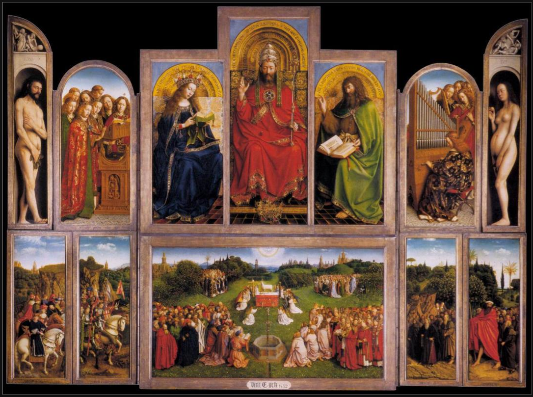 The Ghent Altarpiece /// Jan van Eyck /// 1432