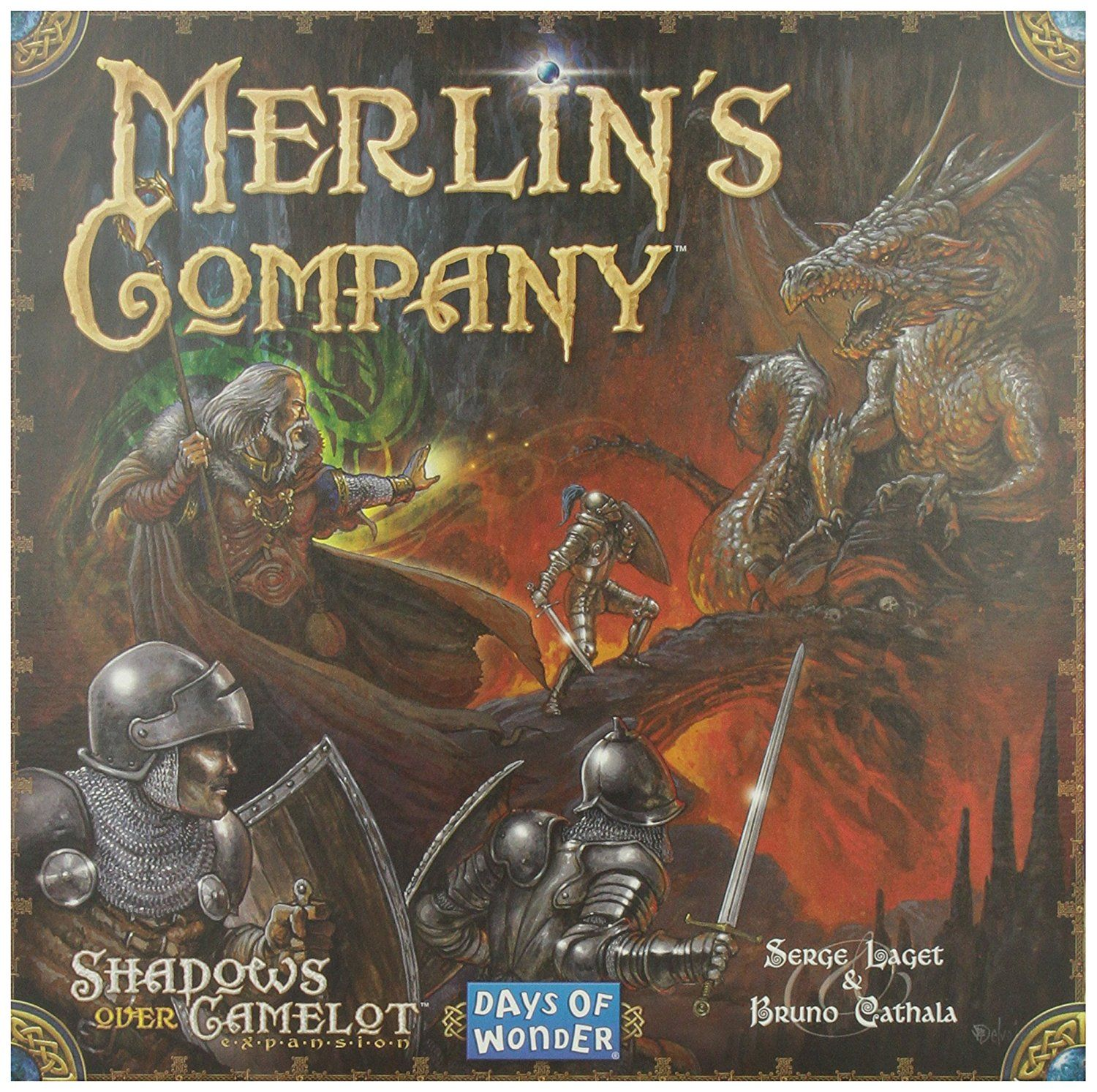 Days of Wonder Shadows over Camelot Merlin's Company English Board Game: Amazon.de: Spielzeug