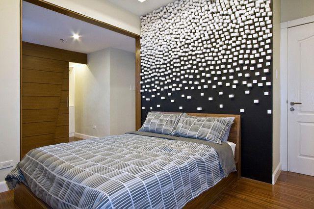 Schwarze Wände_Kreative Wandgestaltung Und Streich Ideen