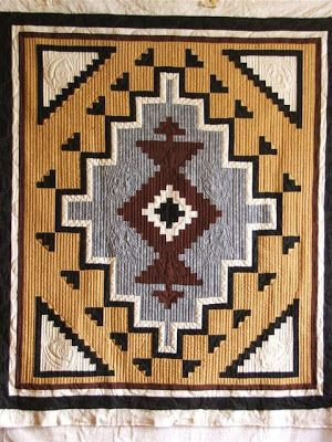 The Quilter Upstairs: Two Gray Hills Quilt - Woman who machine quilts in her home