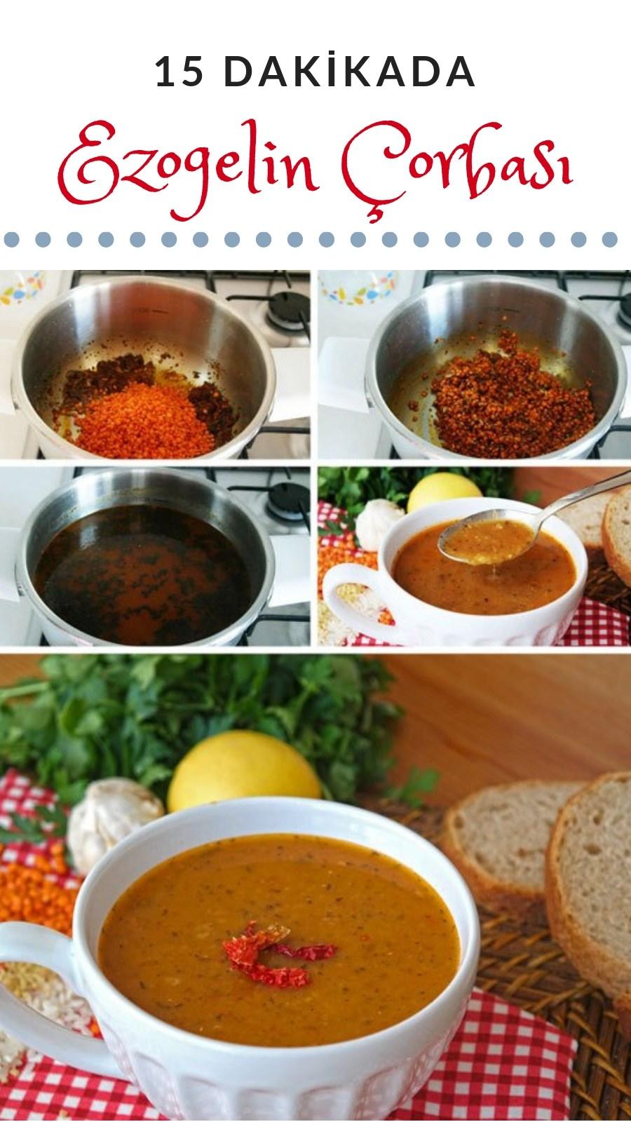 Ezogelin Çorbası Yapılışı (Videolu) 15 dakikada MUHTEŞEM LEZZET! – Nefis Yemek Tarifleri – Çorba Tarifleri