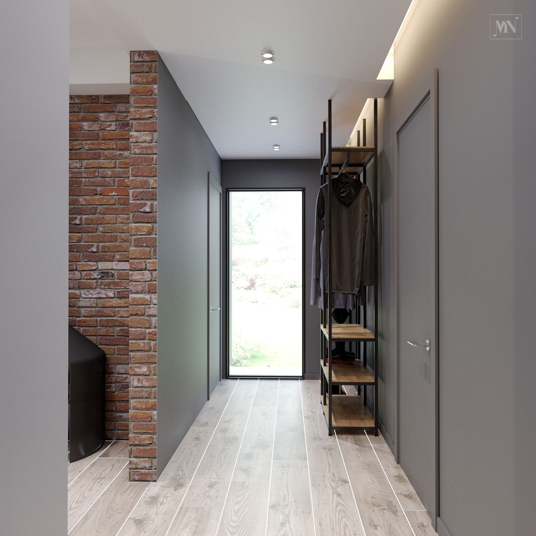 Interior Design House 120 M2Minimalist Hallway Ideas - Mndesign -