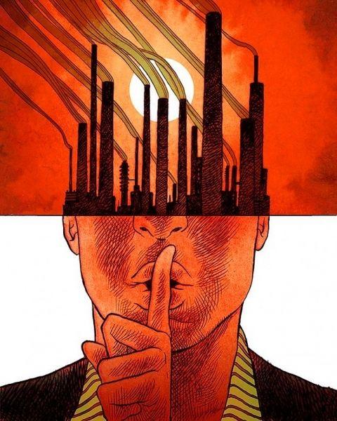 Сучасне життя в ілюстраціях американського художника - Голос українською - Україна ЄС NATO