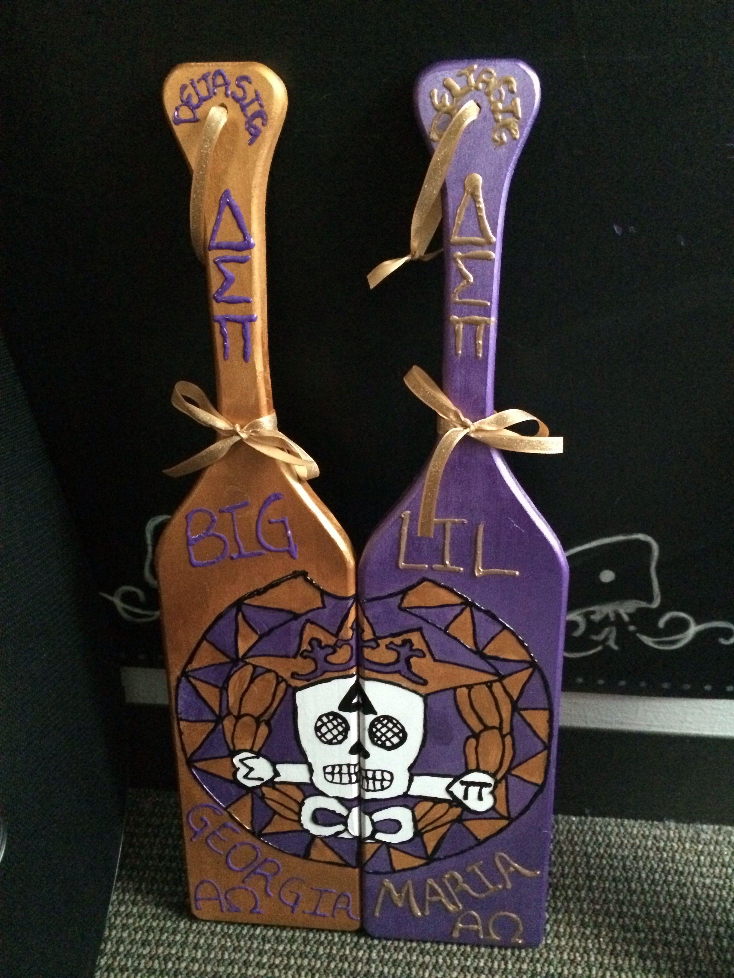 Greek traditional long paddle 850 o big sorority and craft delta sigma pi big little paddles buycottarizona