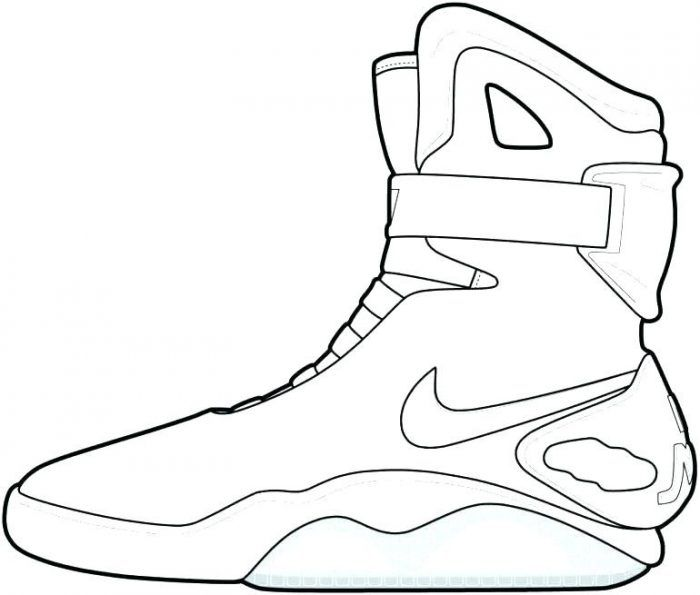 Stephen Curry Shoes Coloring Pages for Kids to Printable