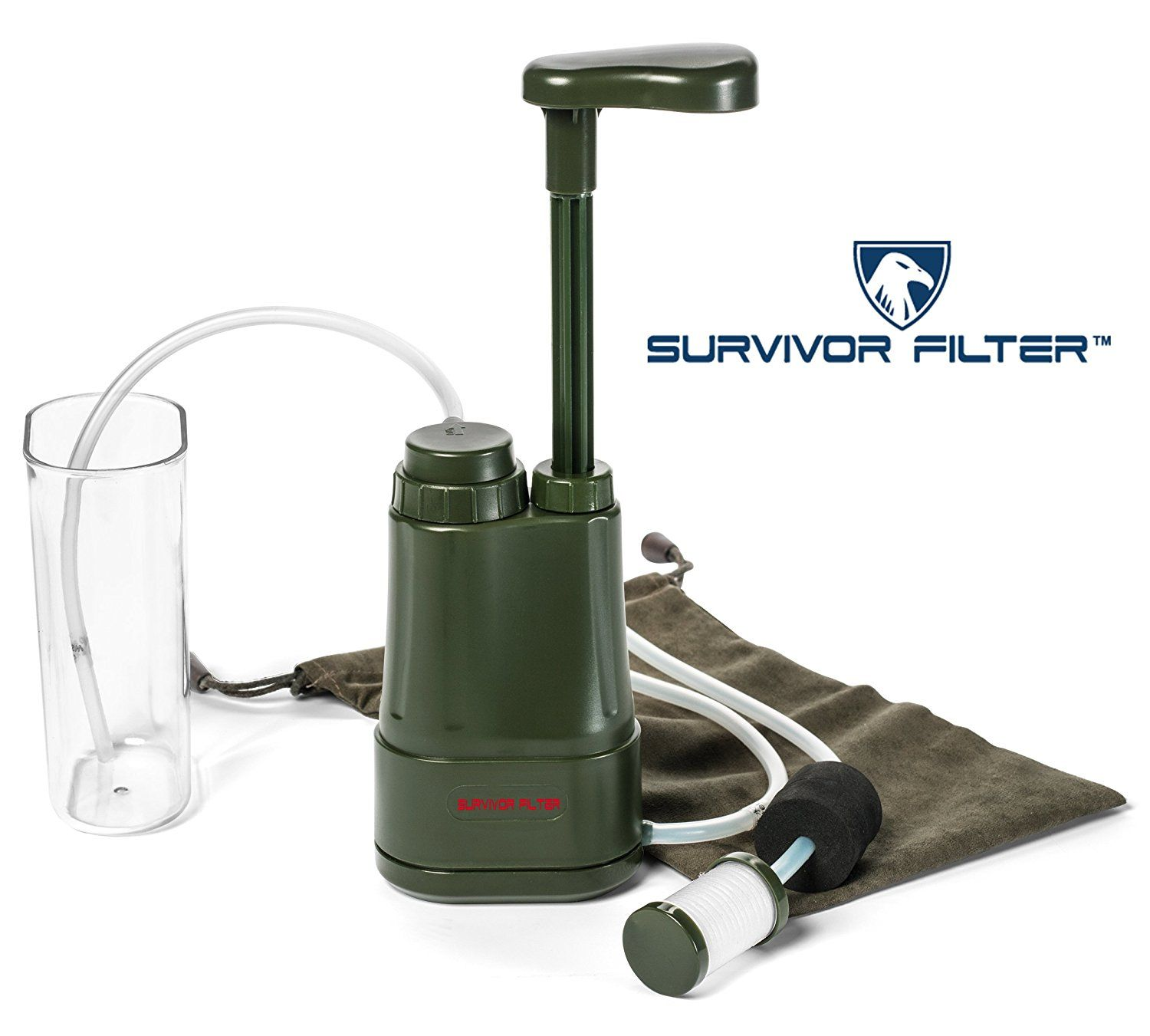 SURVIVOR FILTER PRO Virus and Heavy Metal Tested 0.01 Micron Water Filter