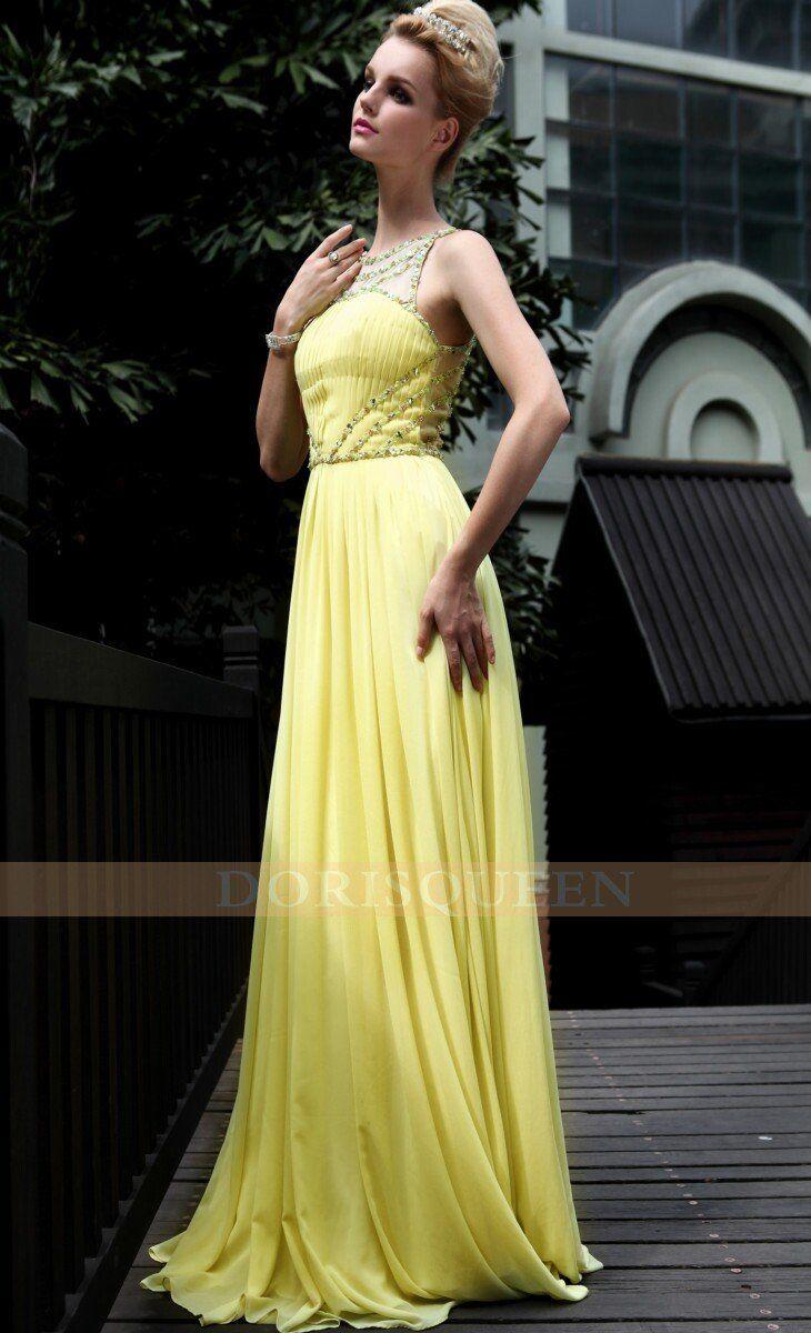 Vestido de noiva amarelo ou dourado
