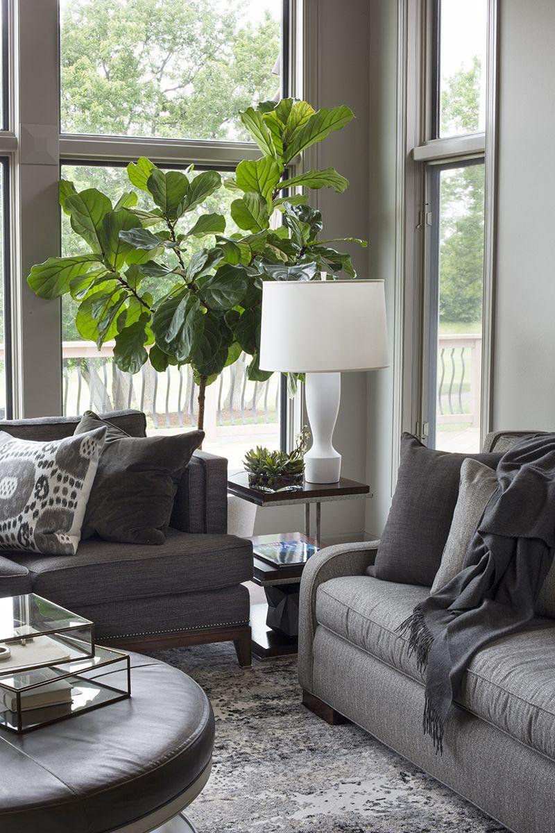 Contemporary Home Grays And Neutrals   R. Cartwright Design, Des Moines  Iowa Interior Designer