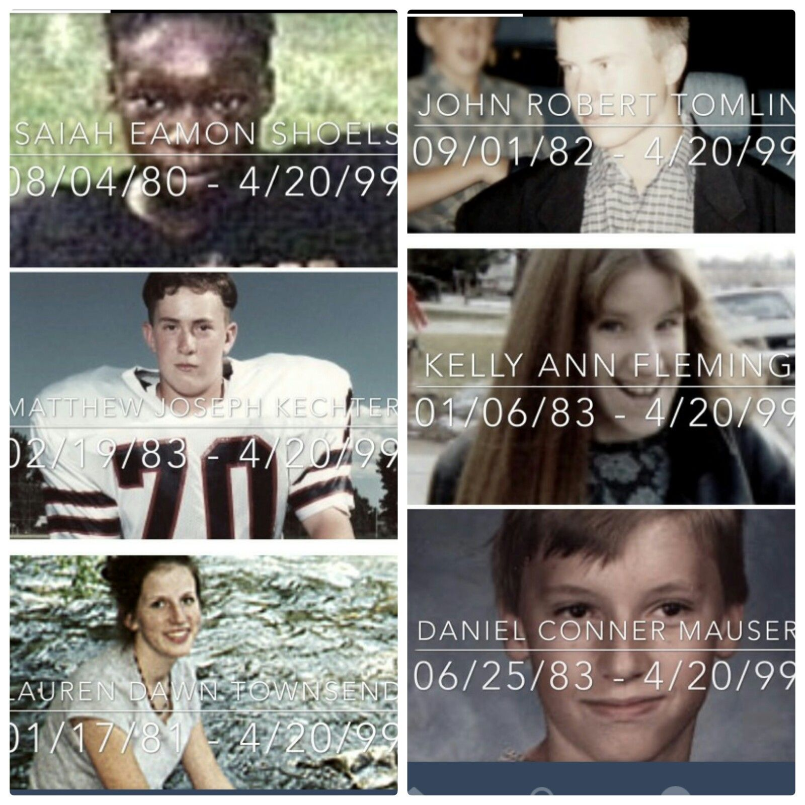 Remembering The 13 Victims Of Columbine High School: Remembering All 15 Victims Of Columbine.