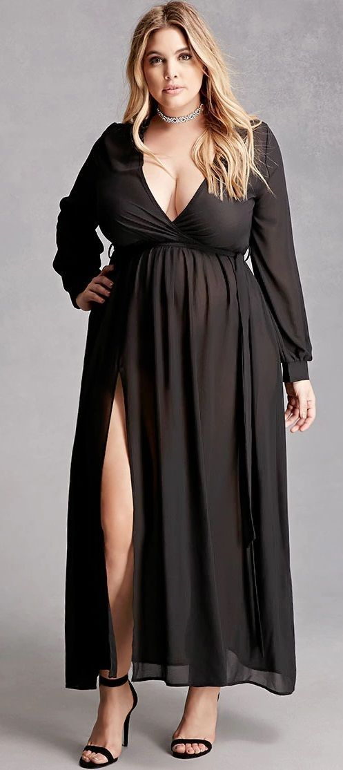 plus size maxi dress | plus size fashion winter | pinterest