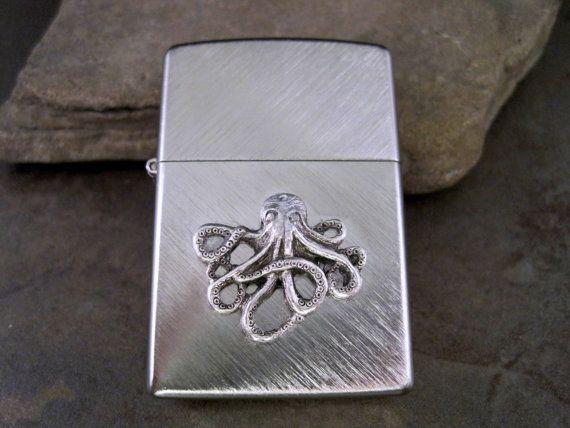Genuine Zippo Herringbone Sweep Steampunk Octopus by ...