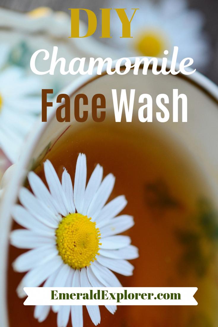 Diy Chamomile Face Wash In 2020 Face Wash Chamomile Skin Benefits Natural Skin Care Diy