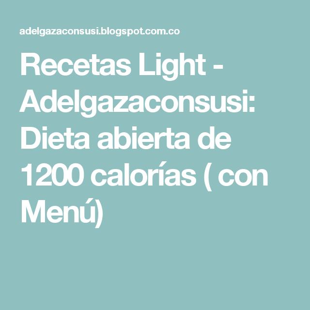 dietas 1200 calorias diarias pdf