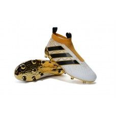 Classic Adidas Womens ACE 16+ Purecontrol FG AG Soccer Cleats - Gold  White Black bf0cb96b7
