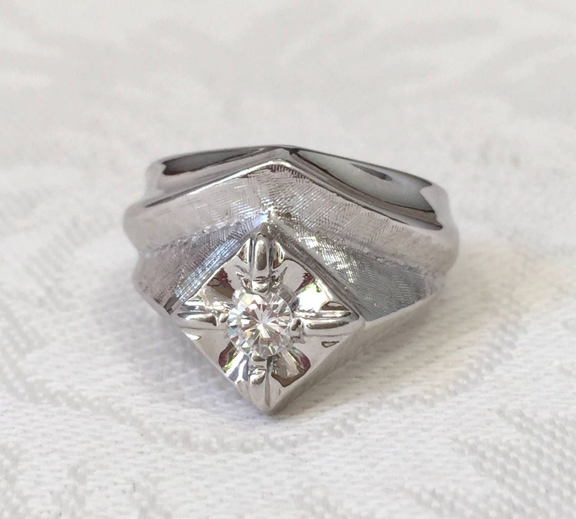 engagement estate diamond carat ring