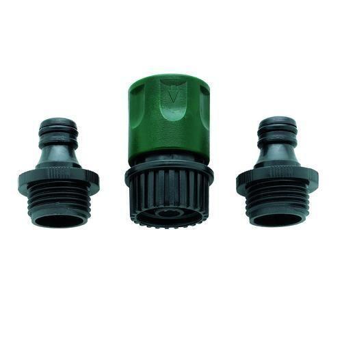 Orbit 58089n 3 Piece Hose Quick Connect Set 2 Male 1 Female Faucet Adapter Garden Hose Hose Faucet