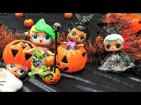 LOL Surprise Dolls Halloween Party Trick or Treating # 1 Stories ...