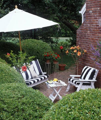 5 Tricks for Decorating a Small Patio | Small patio, Small ...