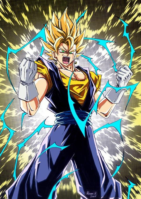 Dragon Ball Z Vegetto Personajes De Dragon Ball Imagenes De Dragon Dibujos