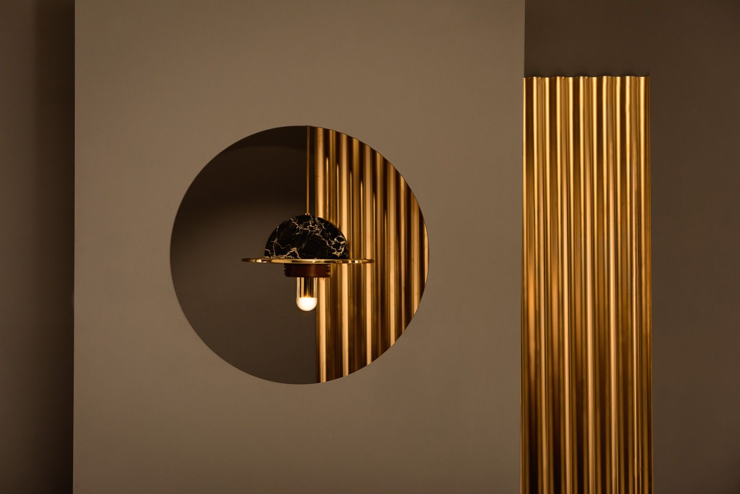 Shade Lamp Designed By Masqueio