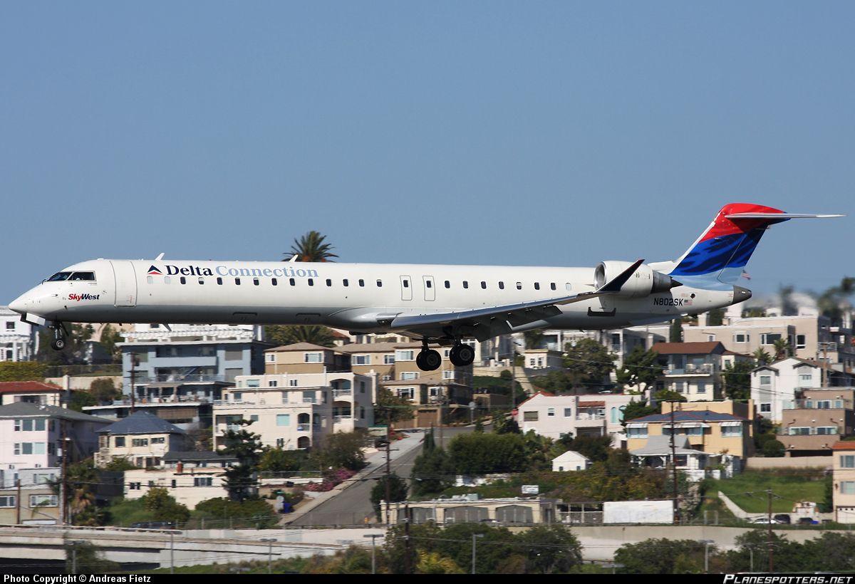 N379ca Delta Connection Gojet Airlines Arr Crj 700 Toronto Yyz