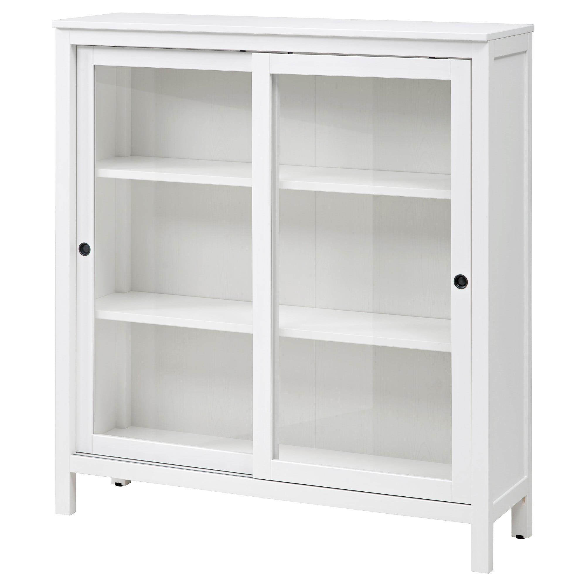 Hemnes Vitrinenschrank Hemnes Glass Door Cabinet White Stain Home Ideas Glass