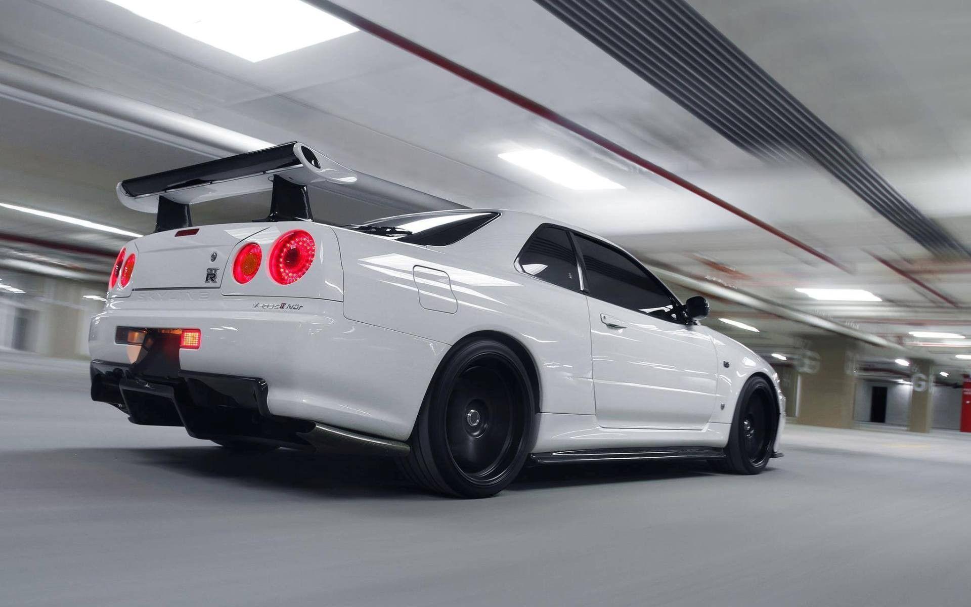 Nissan Skyline Gt R V Spec Ii Nissan Skyline Gt R Nissan Jdm Cars Wallpaper