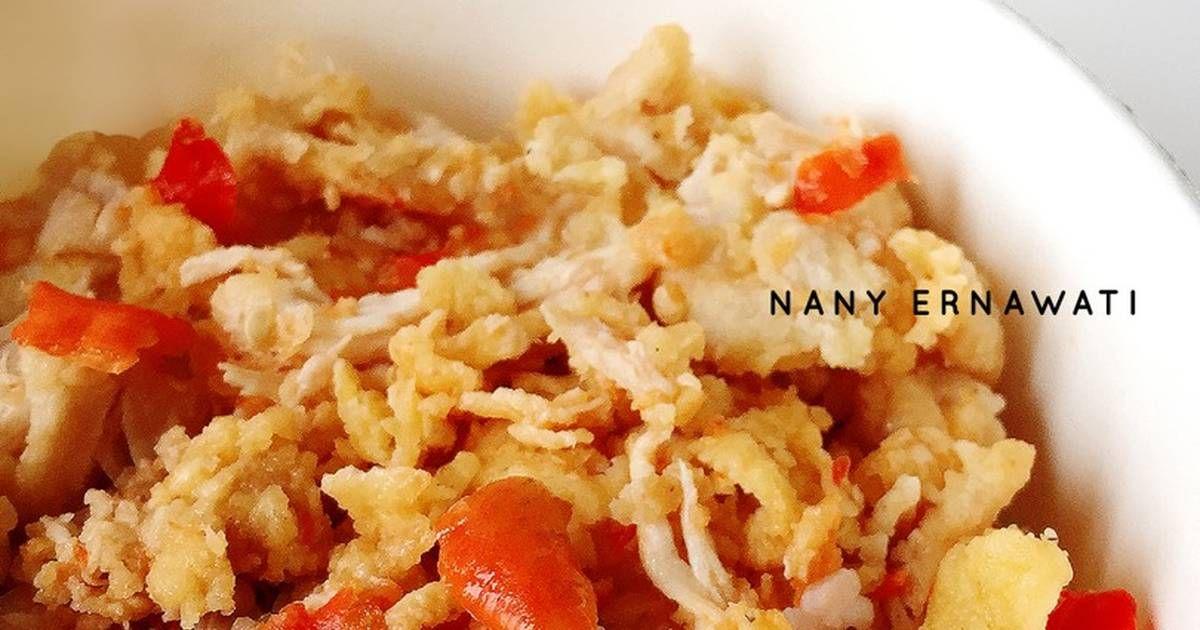 Resep Ayam Geprek Crispy Sambal Bawang Oleh Nany Ernawati Resep Resep Ayam Masakan Adonan
