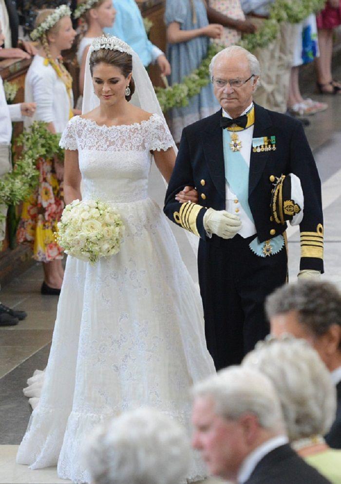 Princess Madeleine And Her Father King Carl Gustaf