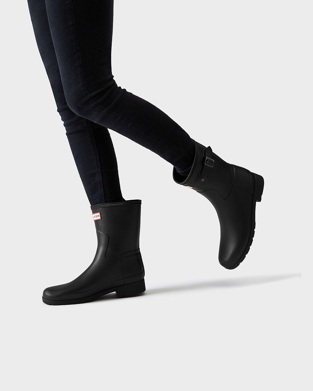 290b96684 Women s refined slim fit short rain boots