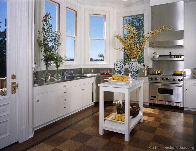 Traditional White Kitchen Cabinets #51 (Kitchen-Design ...