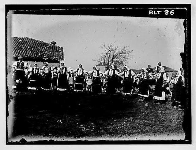"In the village: Traditional dance ""oro"", village Negochani (Niki)"