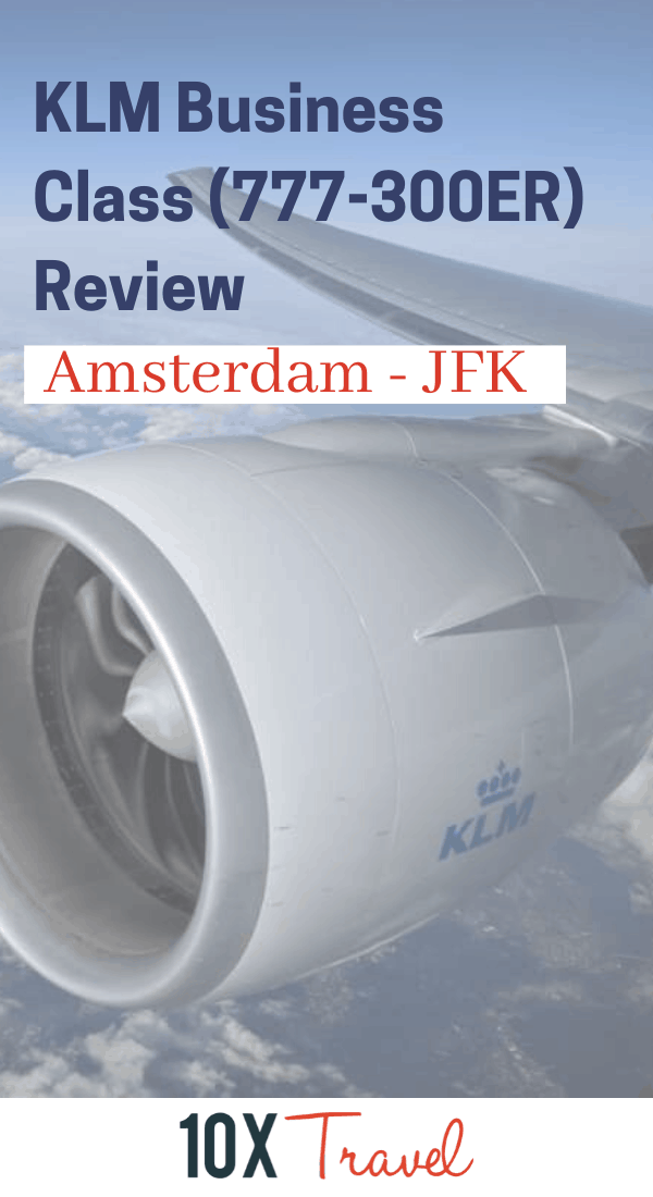 Airline Review KLM Business Class 777300ER in 2020