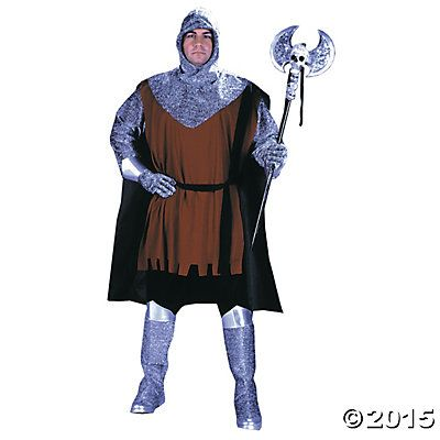 Medieval Knight Standard Costume for Men Medieval Pinterest - halloween costumes ideas men