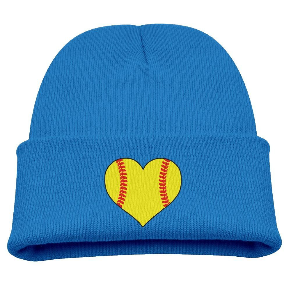 Live Love Softball Original Ski Cap Mens and Womens 100/% Acrylic Knitted Hat Cap