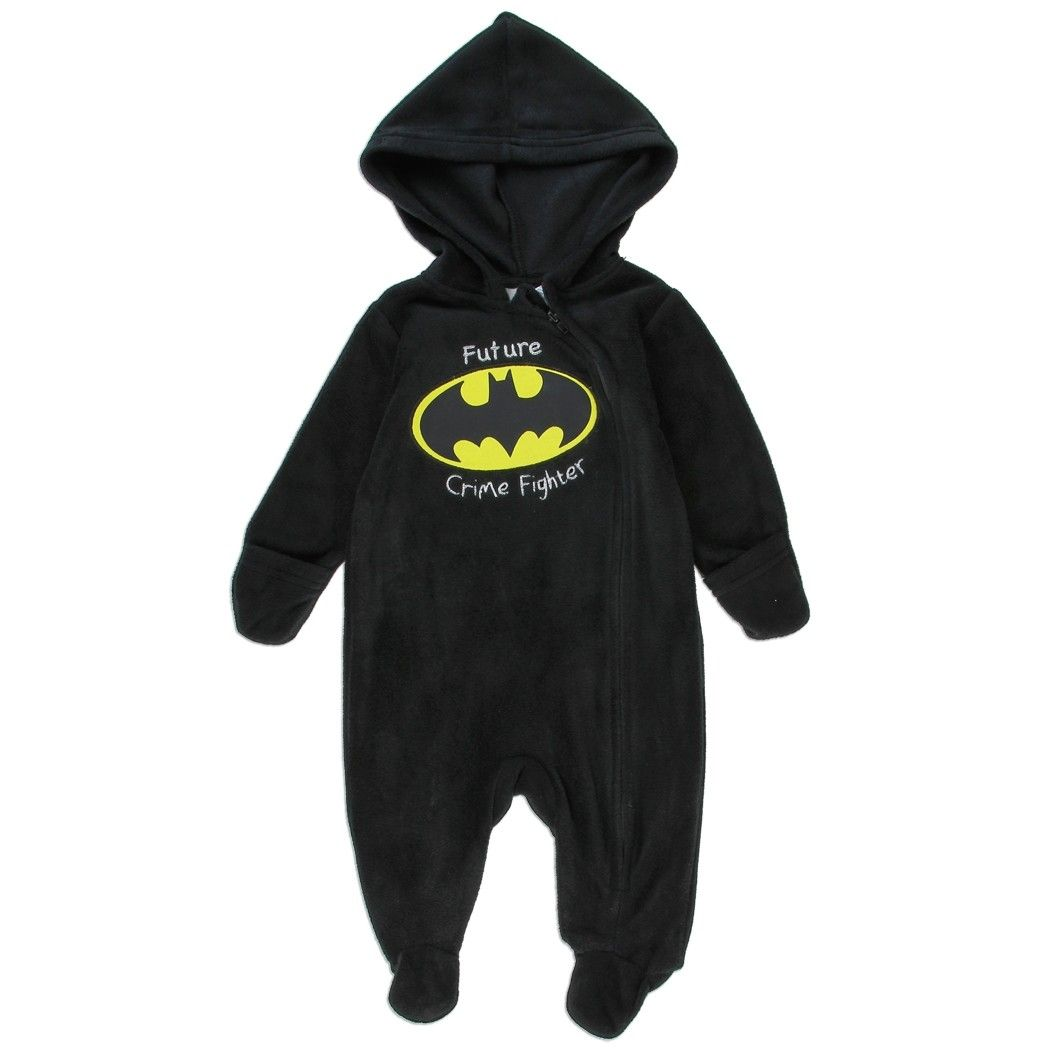 Color Black Sizes 0 3 Months 3 6 Months 6 9 Months Made From 100 Polyester Brand Dc Comics Batman Official Batman Baby Clothes Trendy Baby Clothes Boy Outfits
