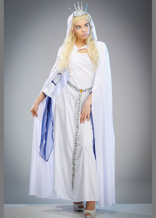Womens The White Witch Snow Queen Costume  sc 1 st  Pinterest & Womens The White Witch Snow Queen Costume | April 13 SpellStrucK ...
