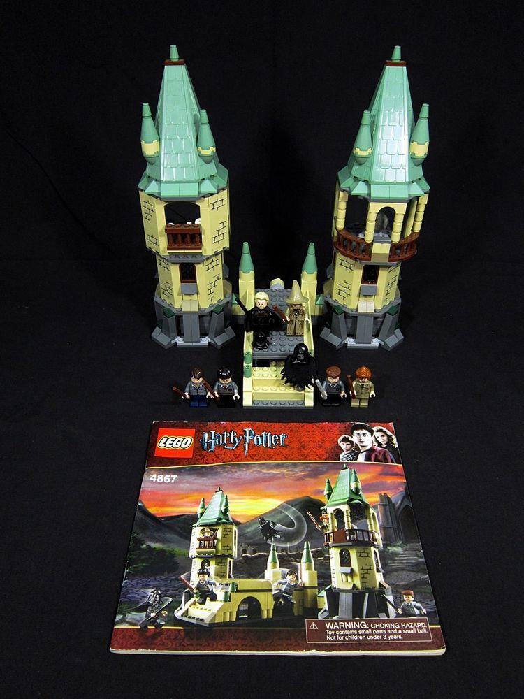 Lego Harry Potter Hogwarts 4867 Retired With Instructions No Box