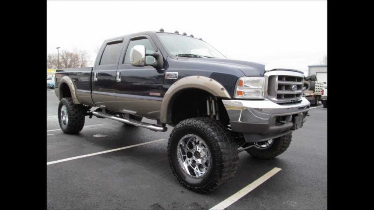 lifted 2004 ford f350 lariat diesel truck for sale lifted ford. Black Bedroom Furniture Sets. Home Design Ideas