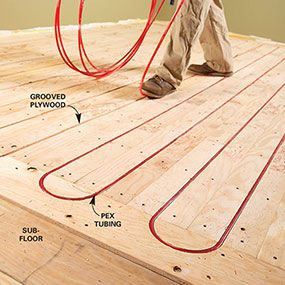 Heated Floors Are Luxurious And Affordable We Ll Tell You How To Select The Best Floor Warming Syste Hydronic Radiant Heat Heated Floors Floor Heating Systems