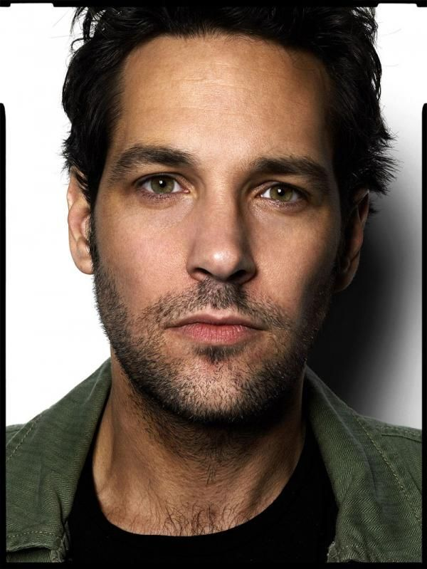 Paul Rudd-I don't think I would kick him out of bed!