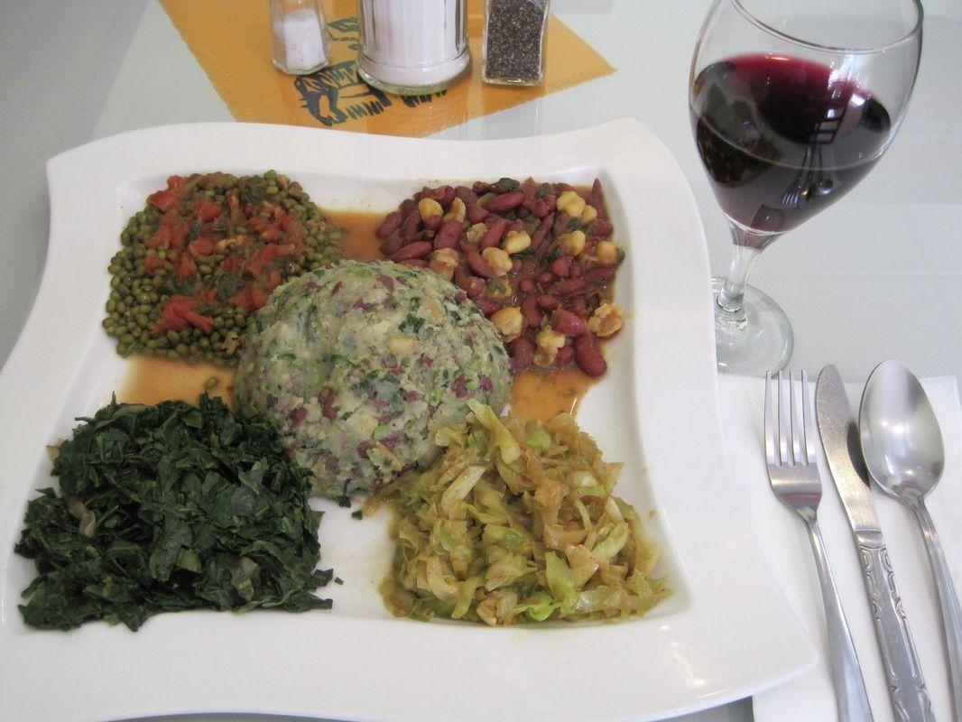 73 best a taste of kenya images on pinterest cooking food kenyan food vegetarian combo dish forumfinder Gallery
