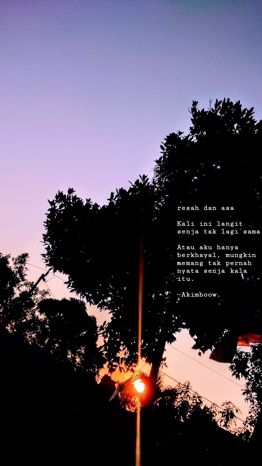 Love Katakata Quotes Senja Sunset Kutipan Terbaik Romantis