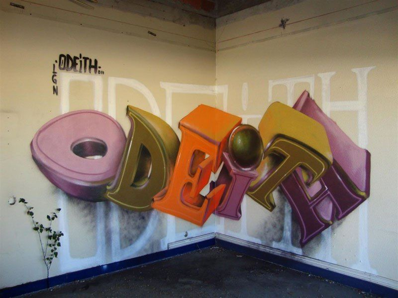 Off The Wall Arts 15 anamorphic graffiti murals that leap off the wall | art