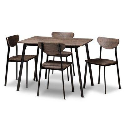 43++ Mid century 5 piece dining set by baxton studio Tips