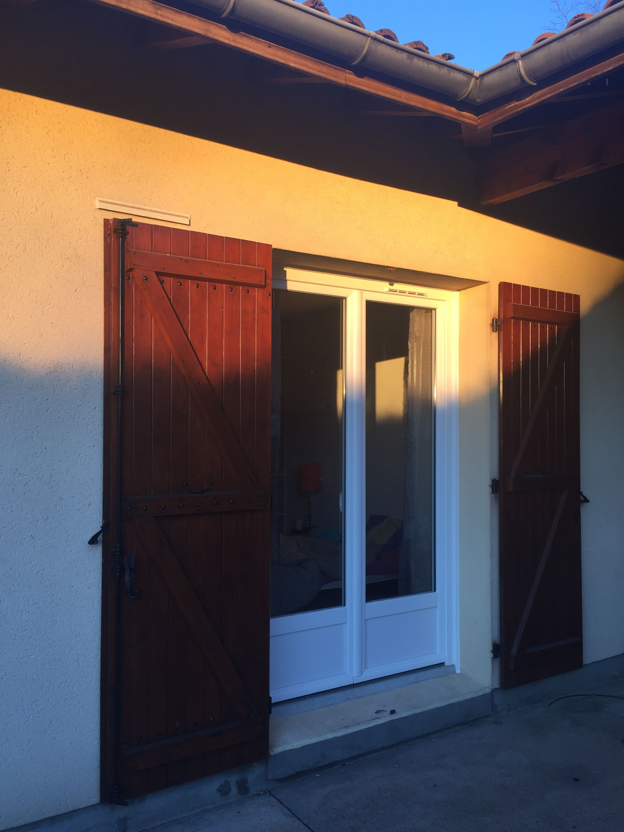 Installation Par Delmas Diffusion Dune Porte Fenêtres 2 Vantaux En