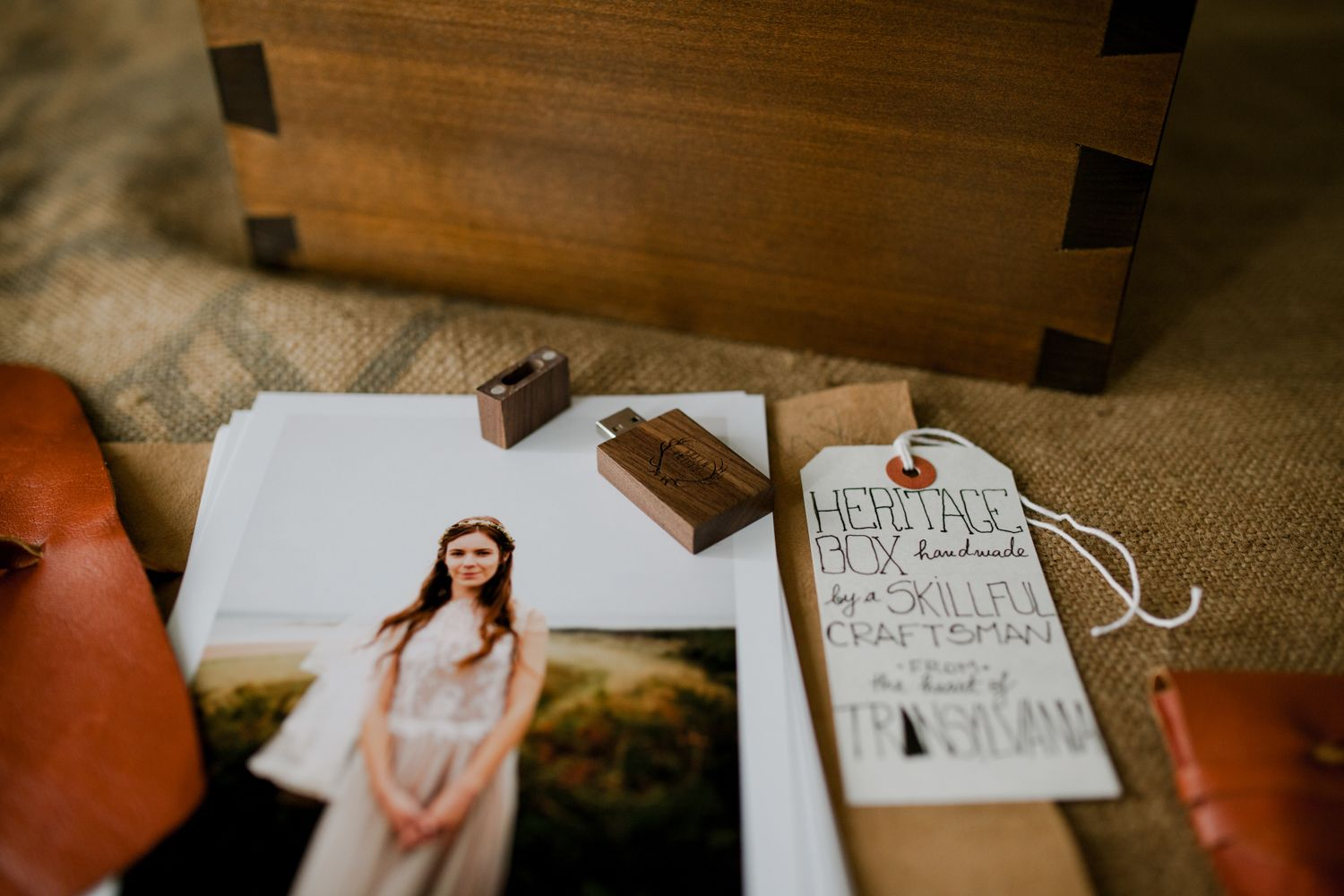 Client Packaging of London wedding photographers