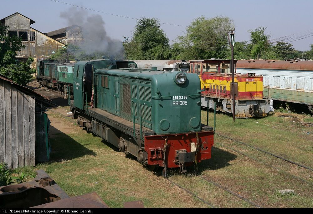 Railpictures photo bb royal railways of cambodia