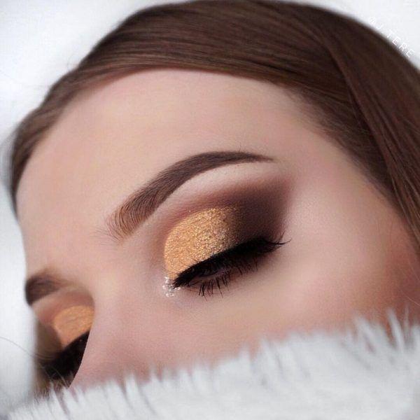 Photo of 25 Beautiful Glittering Eye Makeup For Your Wedding Day – Beauty of Wedding