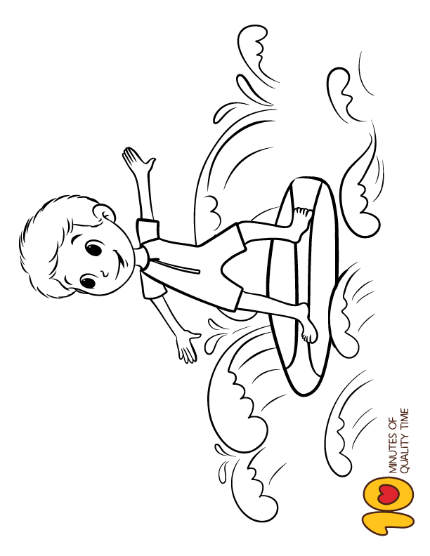 Surfer Boy Coloring Page Boy Coloring Coloring Pages Dolphin Coloring Pages